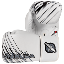 SALE - Ikusa Charged 16oz Gloves - White/Grey