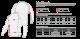 Size chart Metaru 47 Silver Rashguard Longsleeve - Red