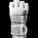 Tokushu 4oz MMA Gloves - White/Slate Grey